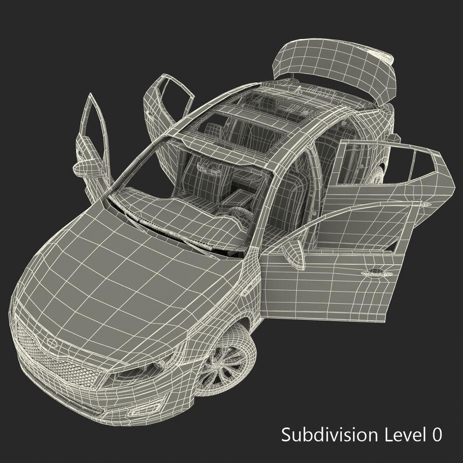 Kia Optima 2014 2 manipuliert royalty-free 3d model - Preview no. 123