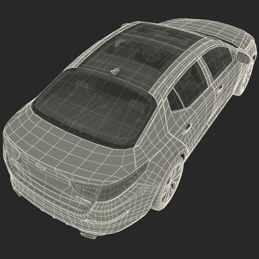 Kia Optima 2014 2 manipuliert royalty-free 3d model - Preview no. 105