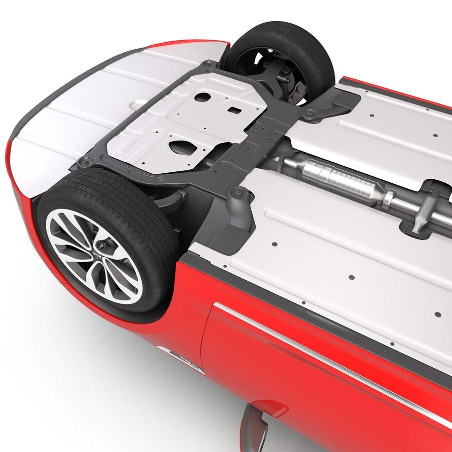 Kia Optima 2014 2 manipuliert royalty-free 3d model - Preview no. 31