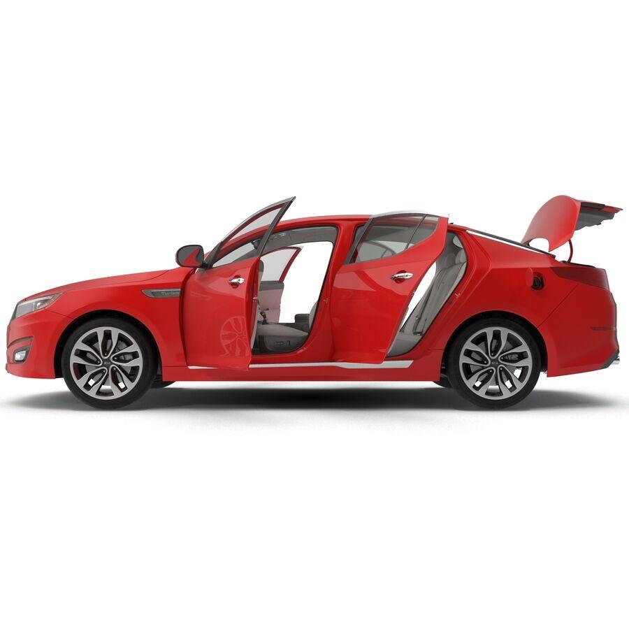 Kia Optima 2014 2 manipuliert royalty-free 3d model - Preview no. 16