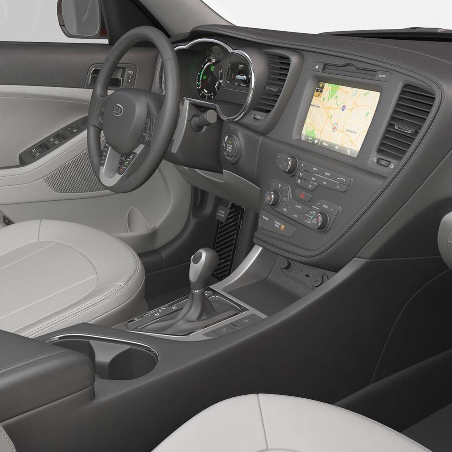 Kia Optima 2014 2 manipuliert royalty-free 3d model - Preview no. 84