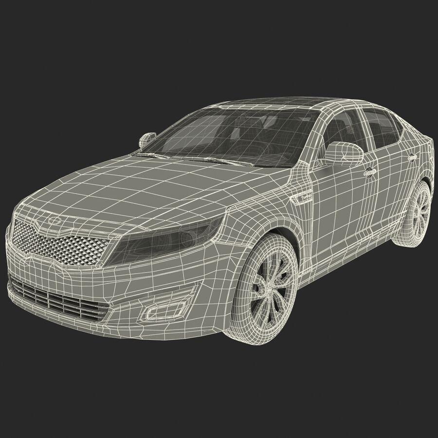 Kia Optima 2014 2 manipuliert royalty-free 3d model - Preview no. 103