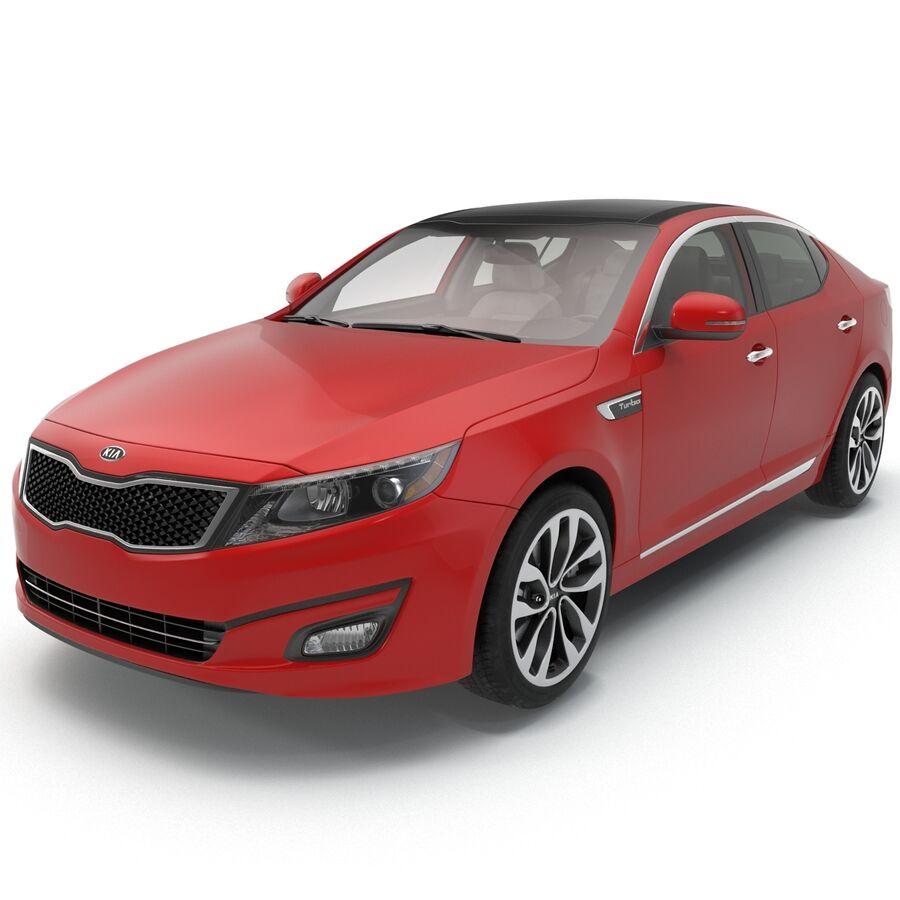 Kia Optima 2014 2 manipuliert royalty-free 3d model - Preview no. 38