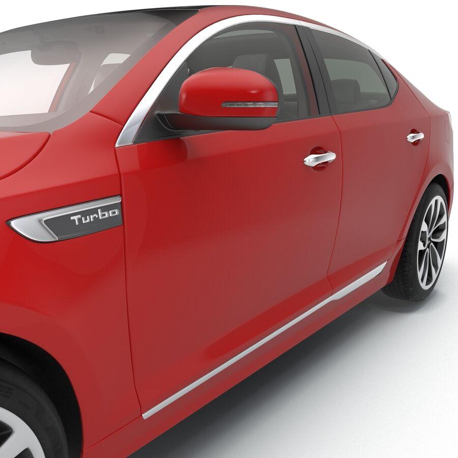 Kia Optima 2014 2 manipuliert royalty-free 3d model - Preview no. 65