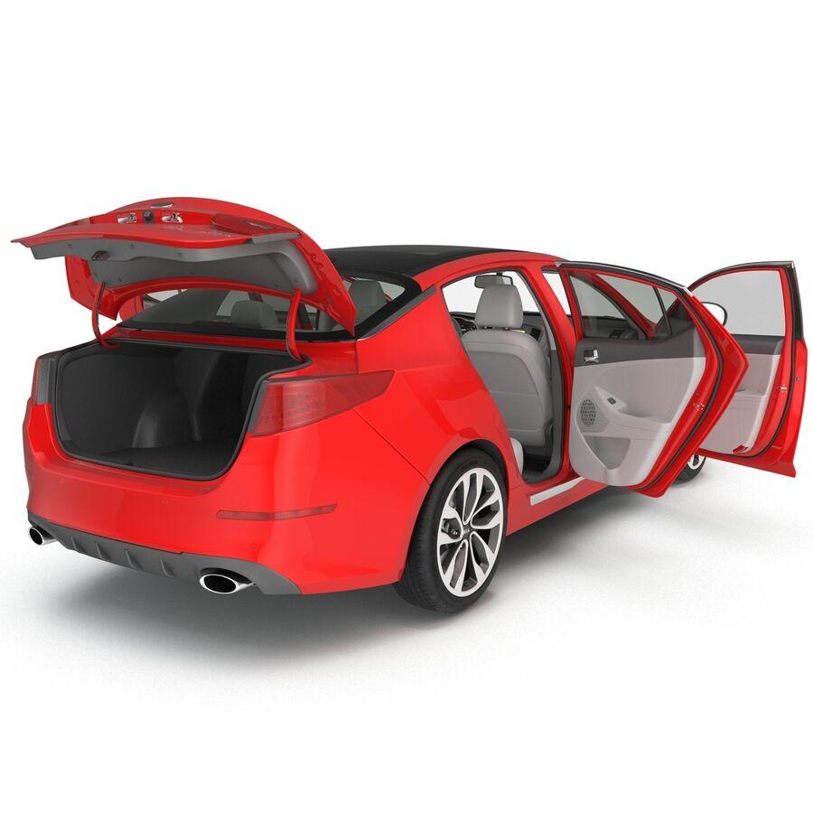 Kia Optima 2014 2 manipuliert royalty-free 3d model - Preview no. 45