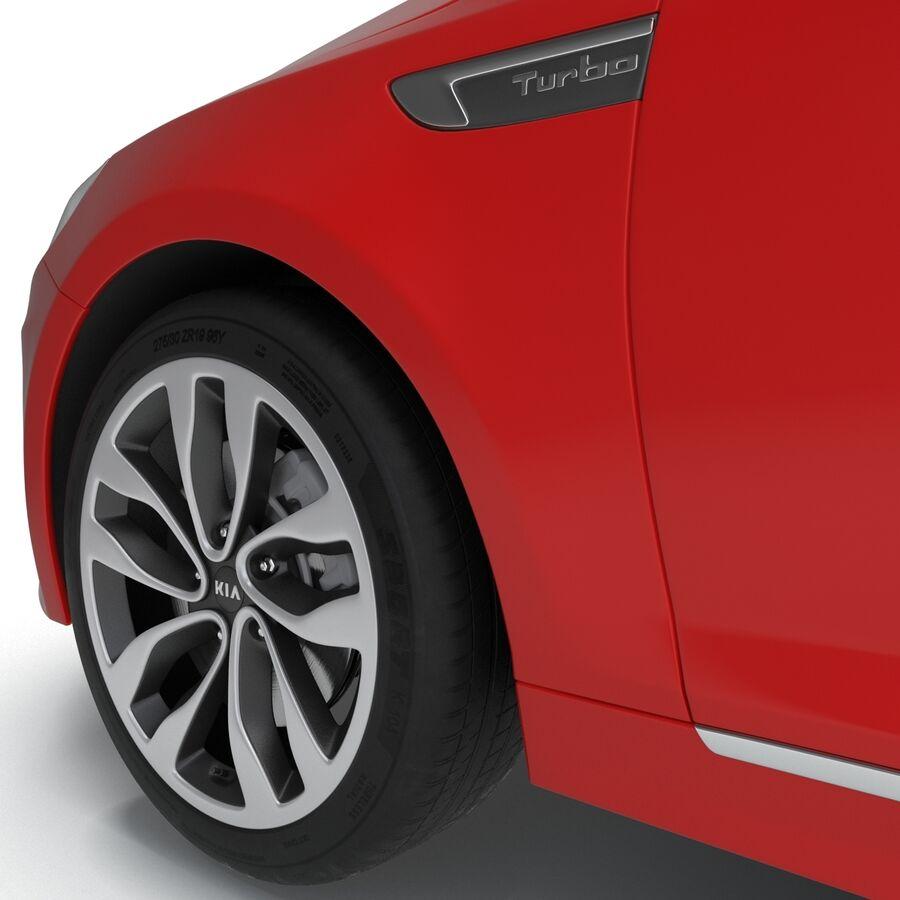 Kia Optima 2014 2 manipuliert royalty-free 3d model - Preview no. 67