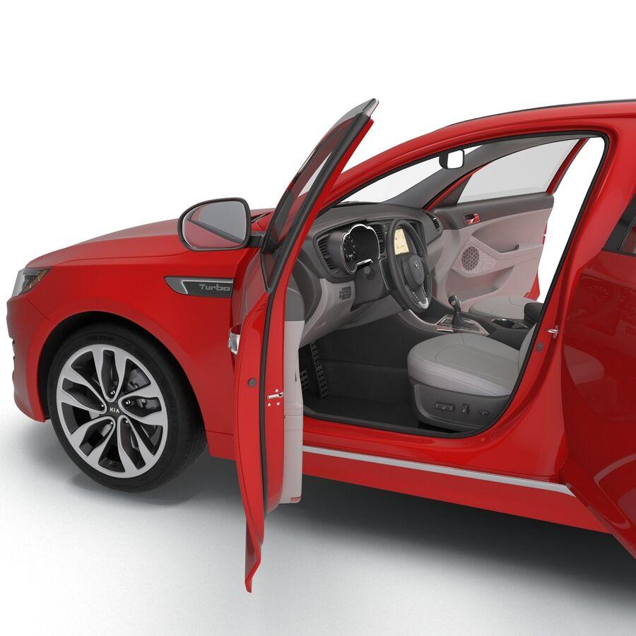 Kia Optima 2014 2 manipuliert royalty-free 3d model - Preview no. 78