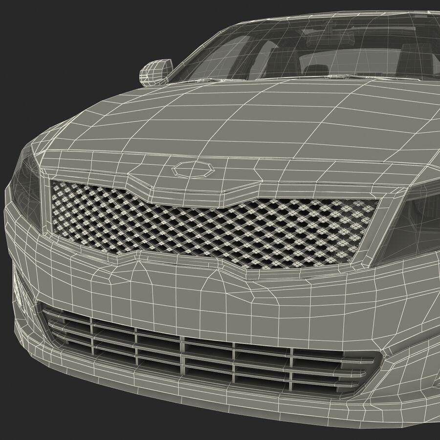 Kia Optima 2014 2 manipuliert royalty-free 3d model - Preview no. 111