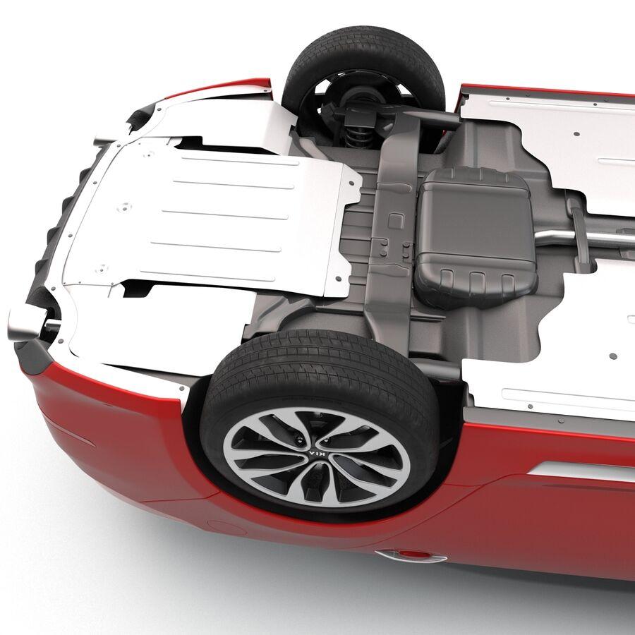Kia Optima 2014 2 manipuliert royalty-free 3d model - Preview no. 37