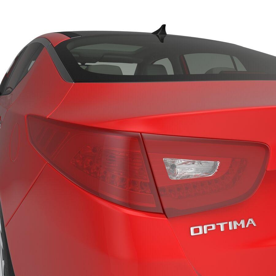 Kia Optima 2014 2 manipuliert royalty-free 3d model - Preview no. 56