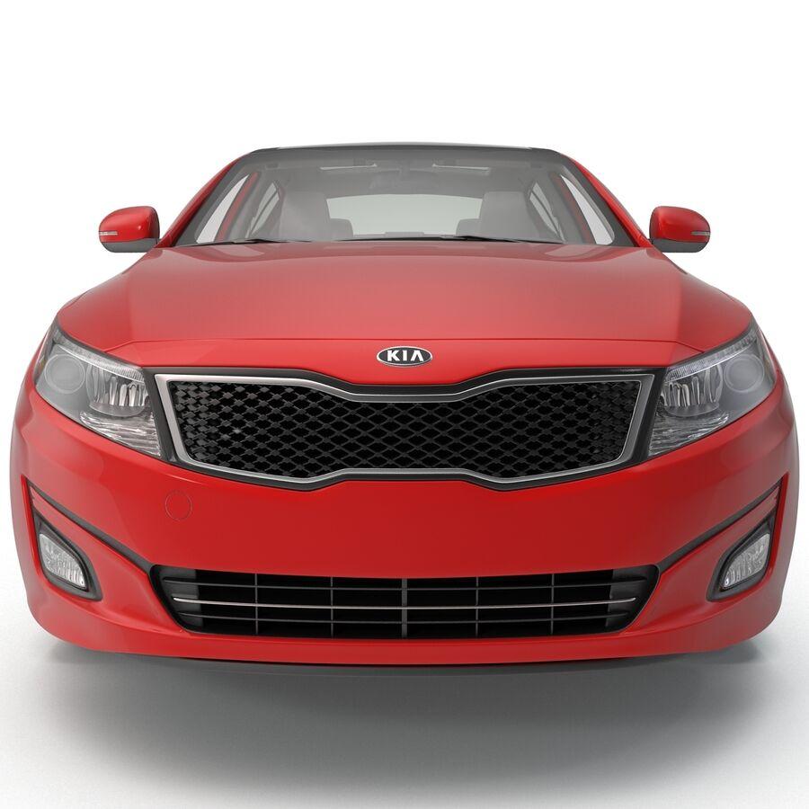 Kia Optima 2014 2 manipuliert royalty-free 3d model - Preview no. 13