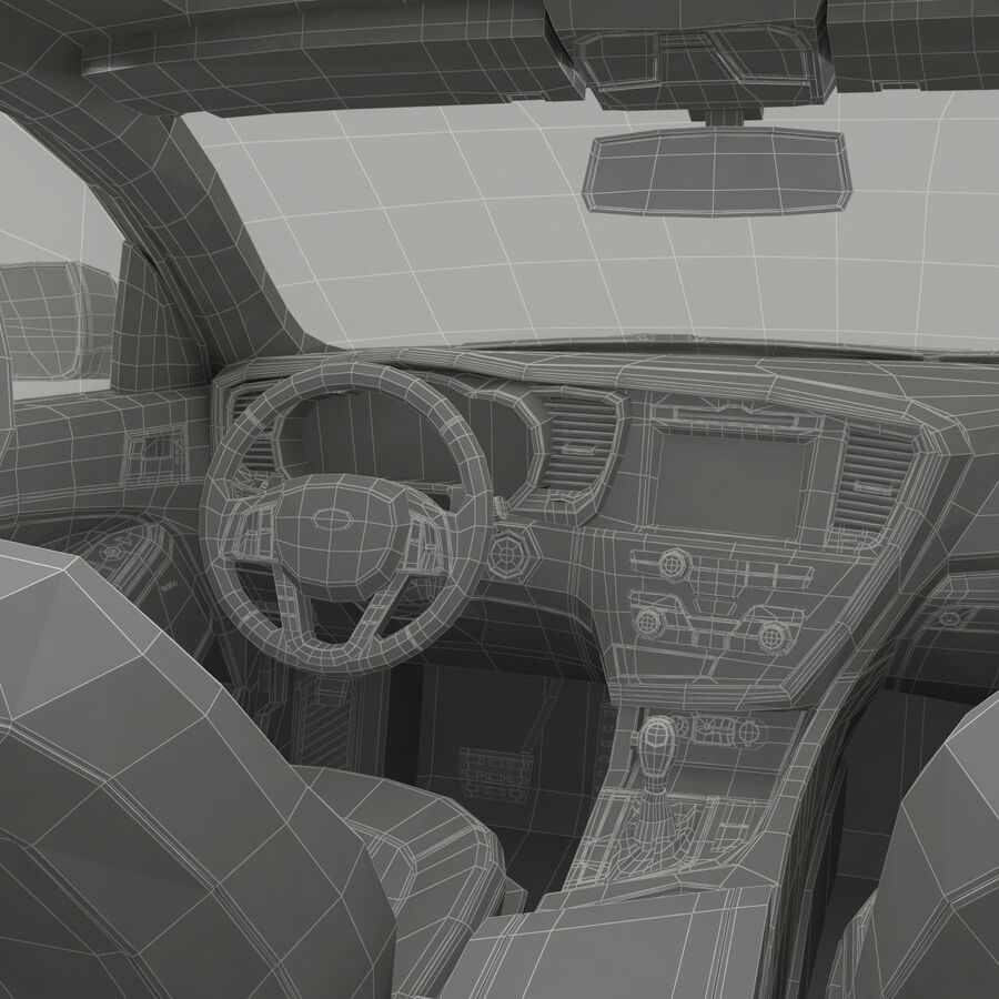 Kia Optima 2014 2 manipuliert royalty-free 3d model - Preview no. 118