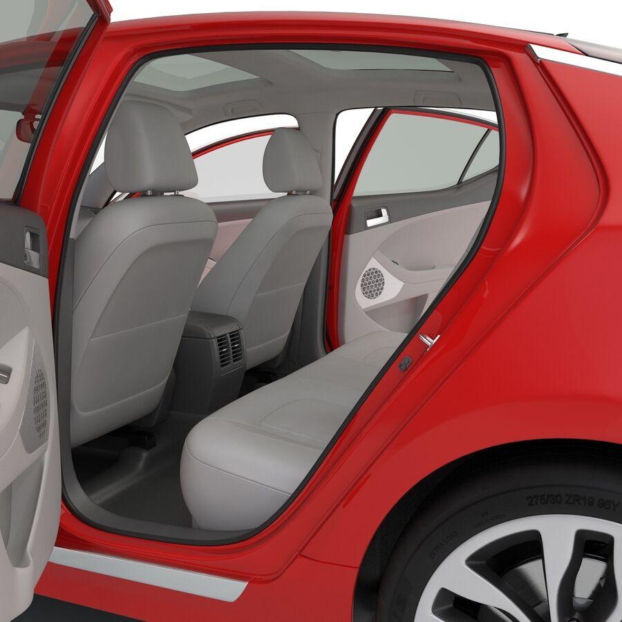 Kia Optima 2014 2 manipuliert royalty-free 3d model - Preview no. 80