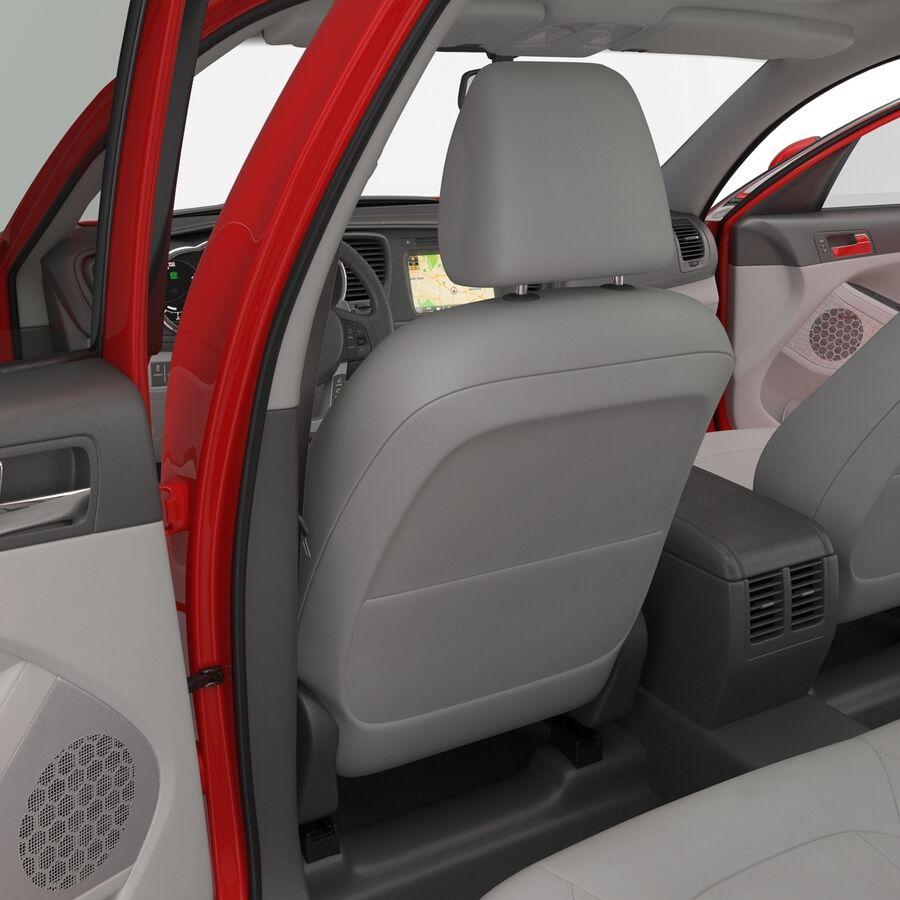 Kia Optima 2014 2 manipuliert royalty-free 3d model - Preview no. 79