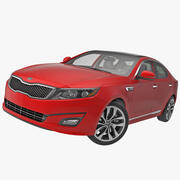 Kia Optima 2014 2 attrezzata 3d model
