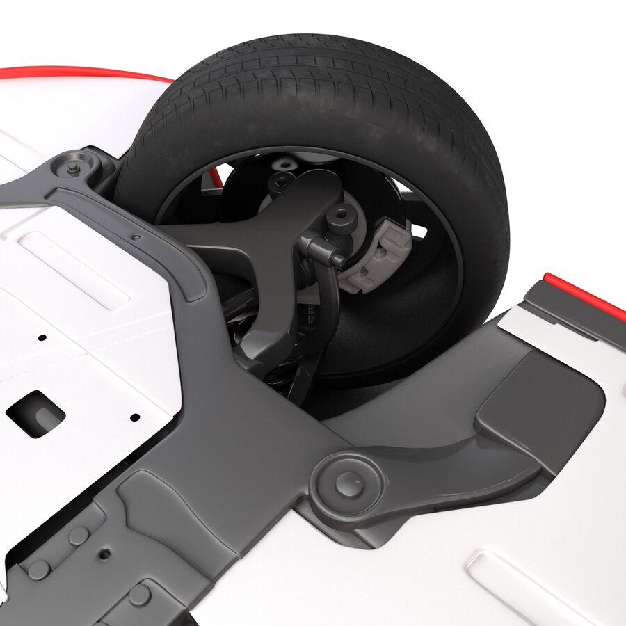 Kia Optima 2014 2 manipuliert royalty-free 3d model - Preview no. 34