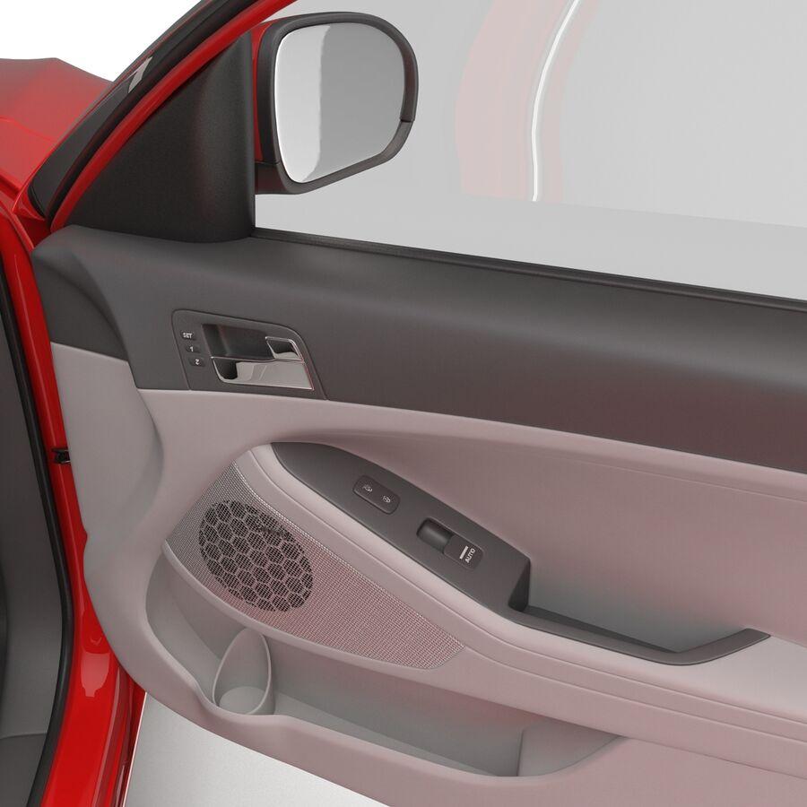 Kia Optima 2014 2 manipuliert royalty-free 3d model - Preview no. 76