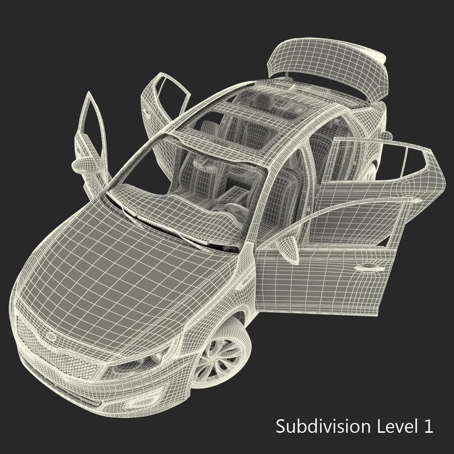 Kia Optima 2014 2 manipuliert royalty-free 3d model - Preview no. 124