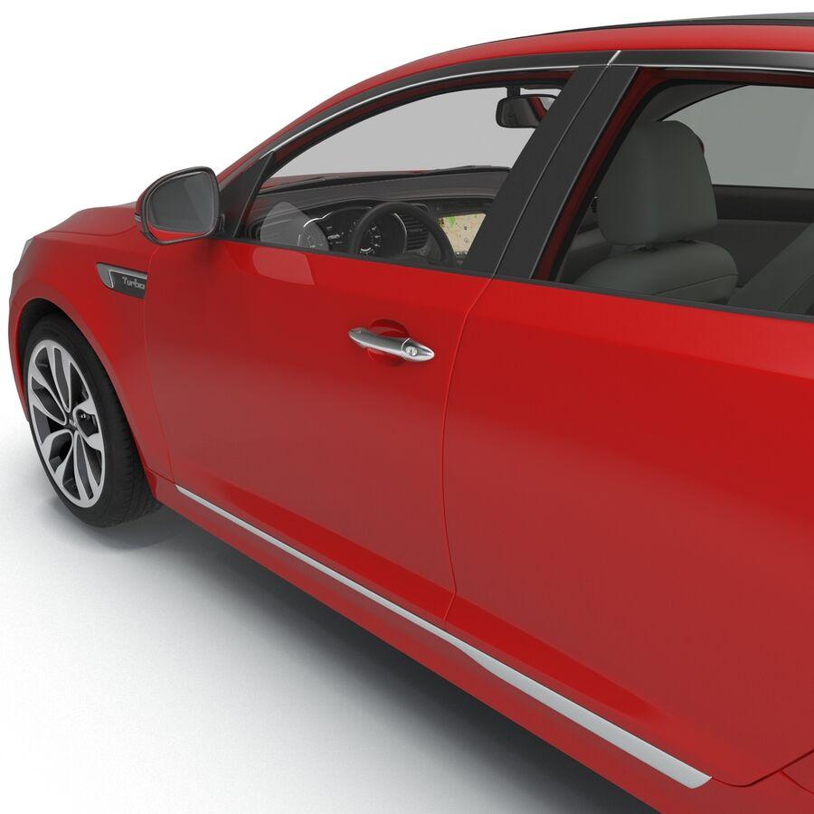 Kia Optima 2014 2 manipuliert royalty-free 3d model - Preview no. 59