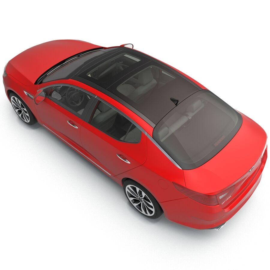 Kia Optima 2014 2 manipuliert royalty-free 3d model - Preview no. 52