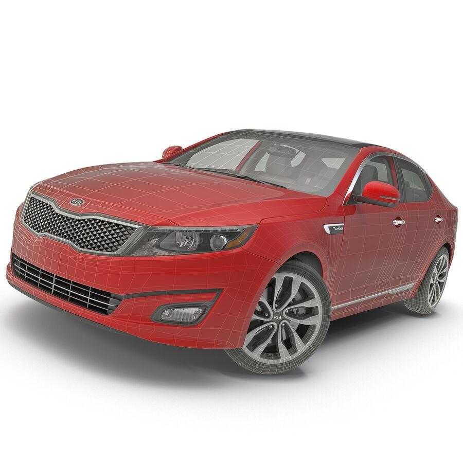 Kia Optima 2014 2 manipuliert royalty-free 3d model - Preview no. 91