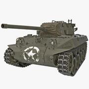 M18 Hellcat WWII American Tank Destroyer 3d model