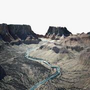 büyük Kanyon 3d model