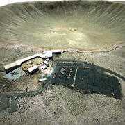 Meteor Crater Arizona 3d model