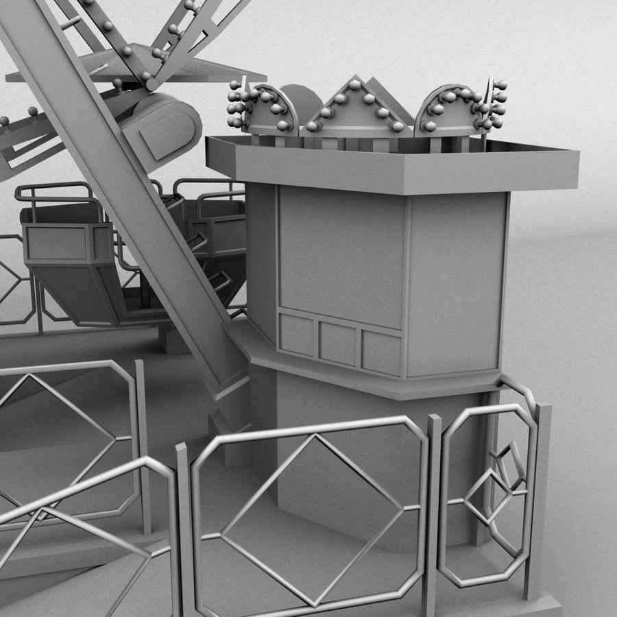 Ferris wheel royalty-free 3d model - Preview no. 14