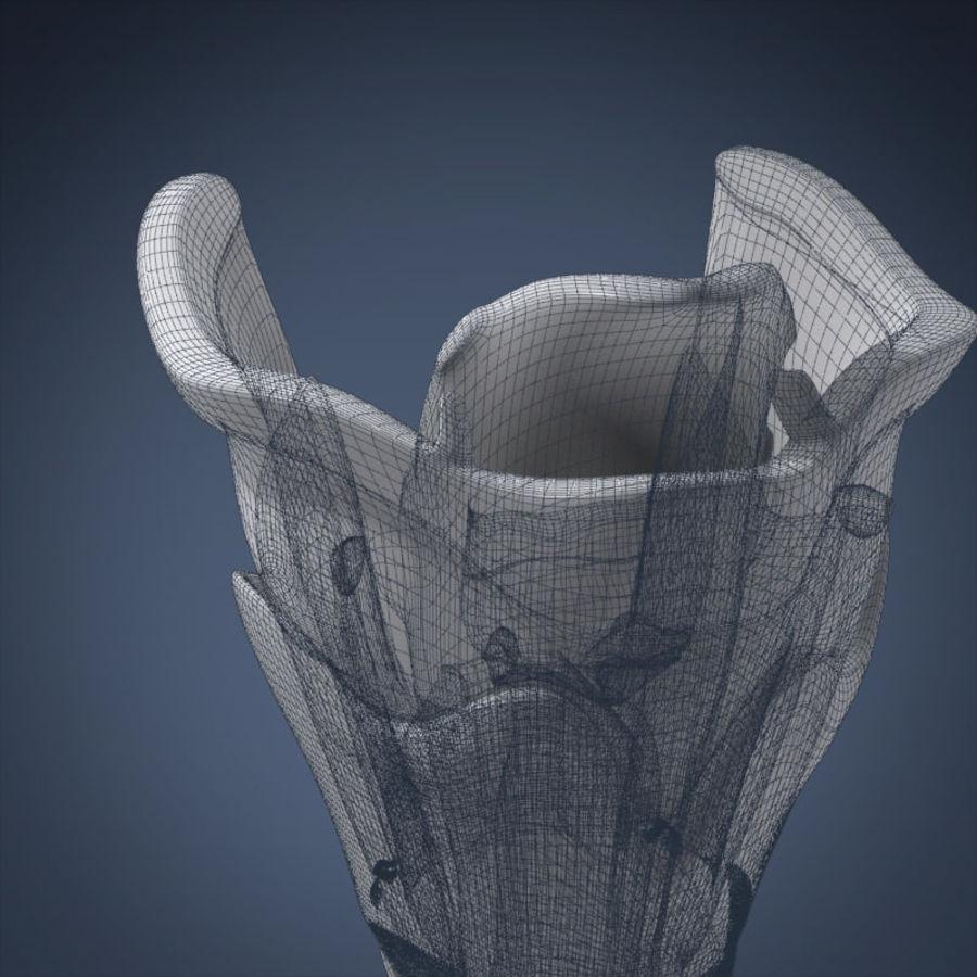 인간의 후두 (애니메이션) royalty-free 3d model - Preview no. 10