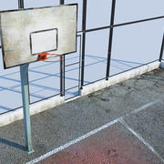 Basketbol sahası 3d model