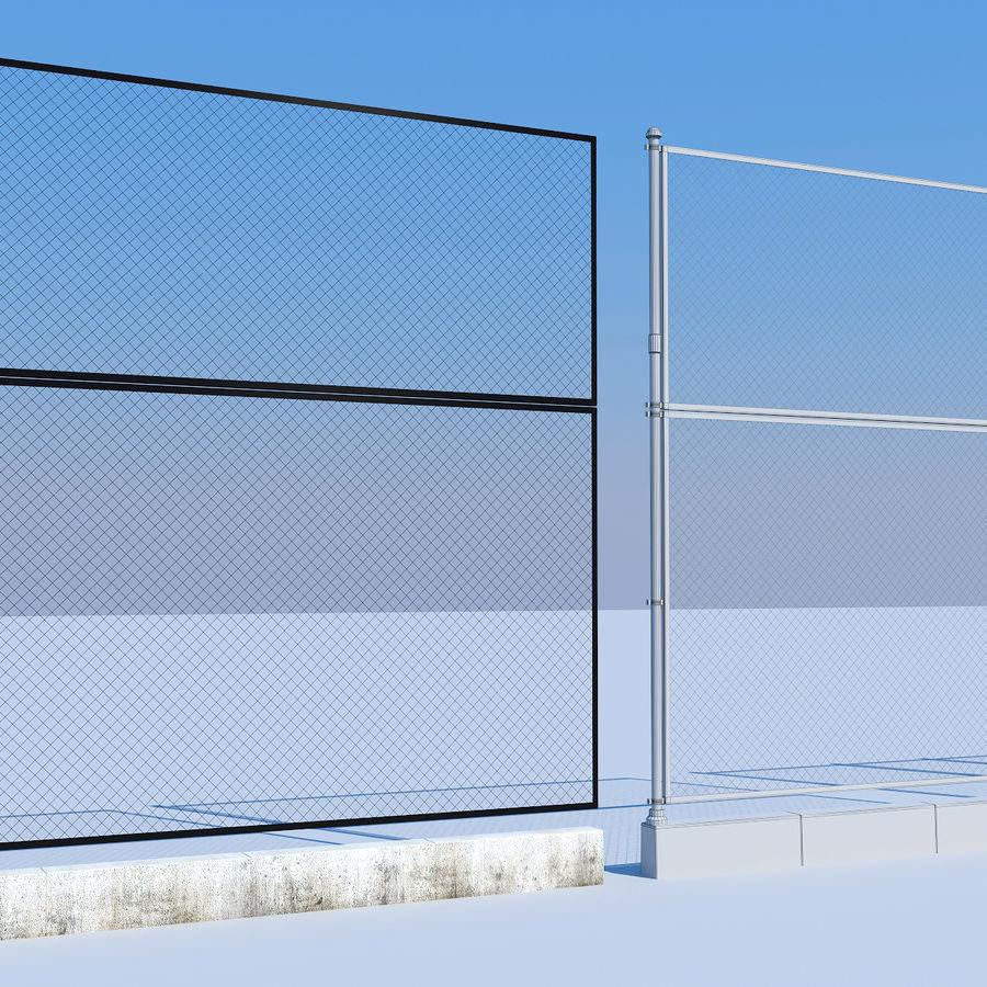 terrain de basketball royalty-free 3d model - Preview no. 7