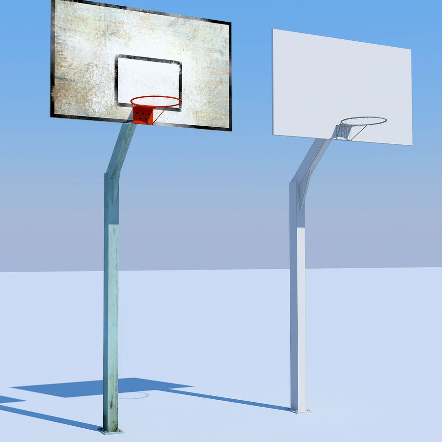 terrain de basketball royalty-free 3d model - Preview no. 5