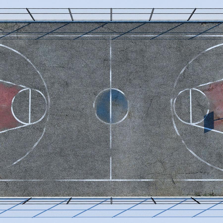 terrain de basketball royalty-free 3d model - Preview no. 4
