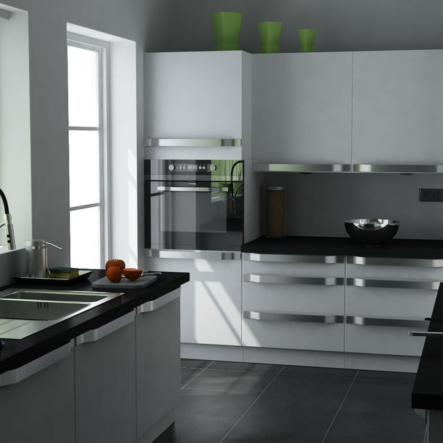 Kitchen IKEA 3D Model $25