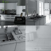 Kitchen IKEA 3d model