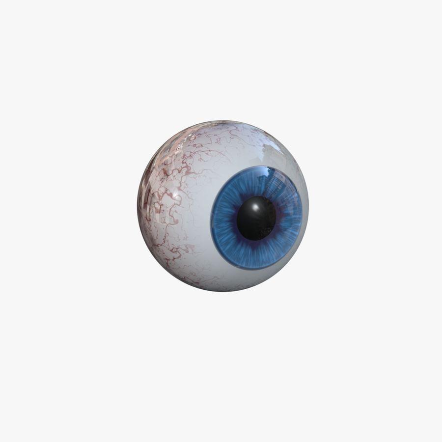 eye boll royalty-free 3d model - Preview no. 1