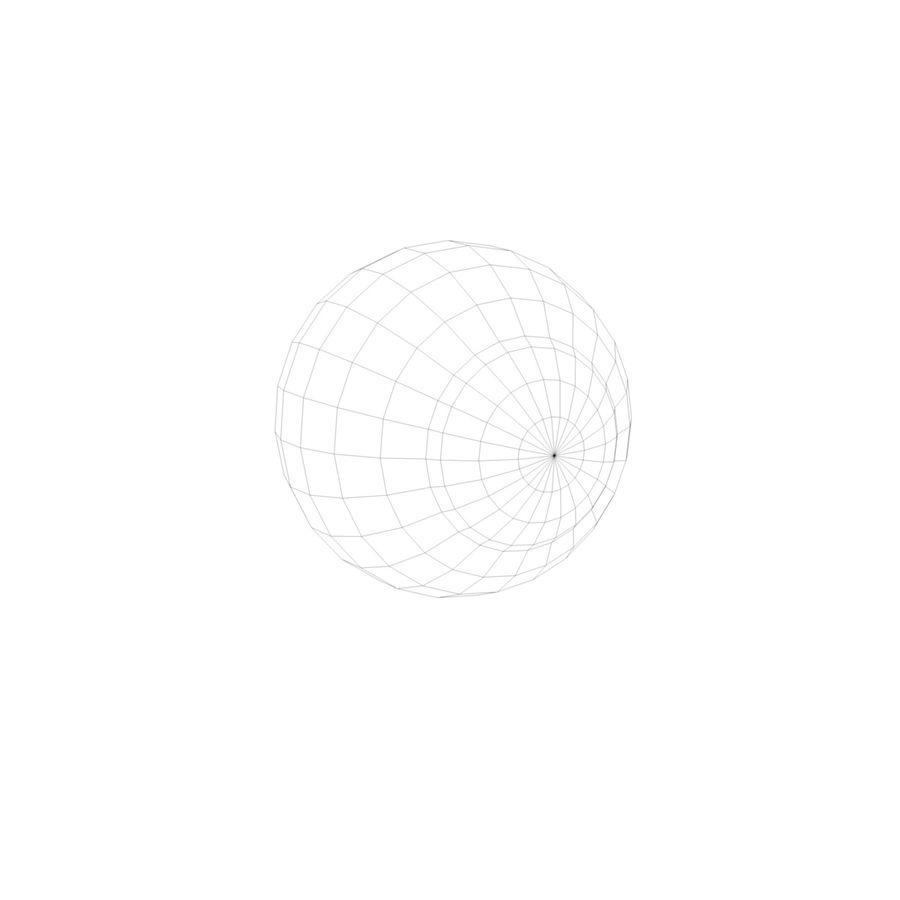eye boll royalty-free 3d model - Preview no. 5