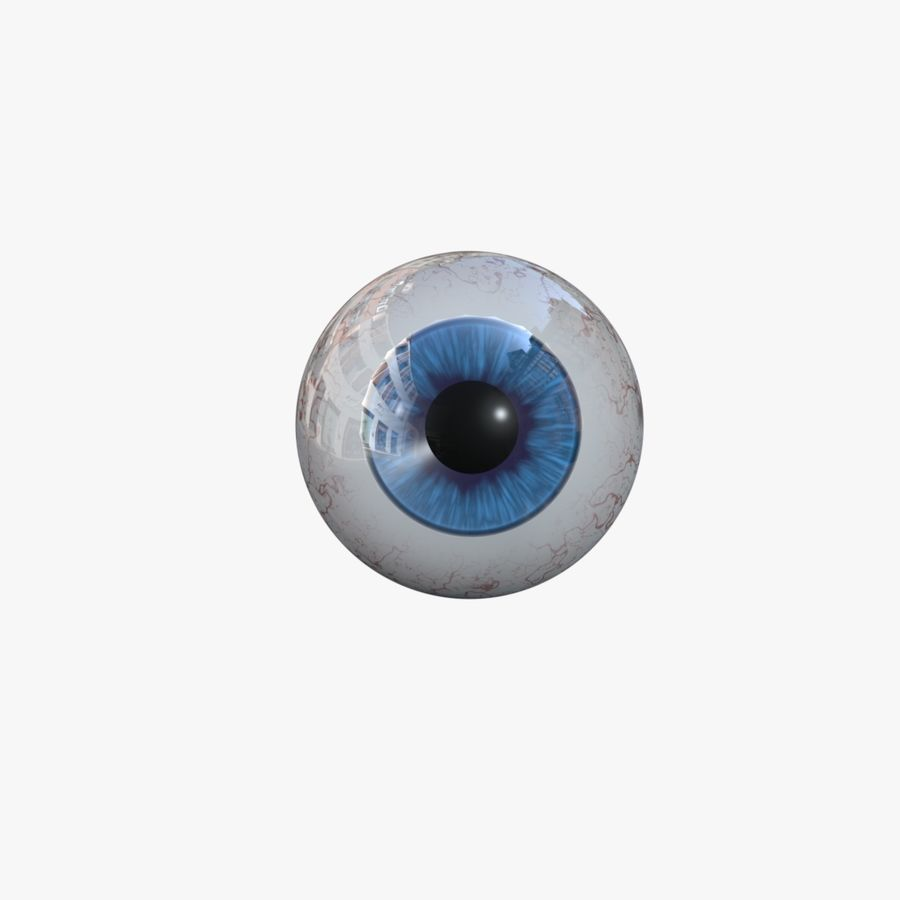 eye boll royalty-free 3d model - Preview no. 2