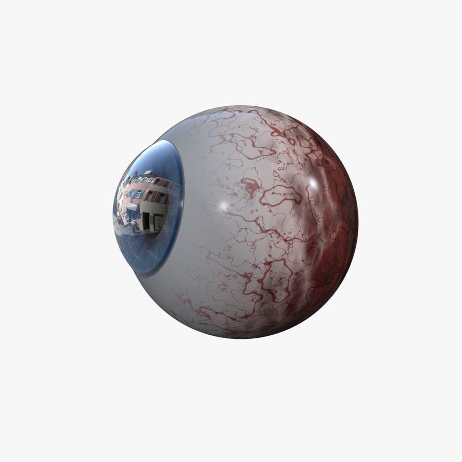eye boll royalty-free 3d model - Preview no. 3