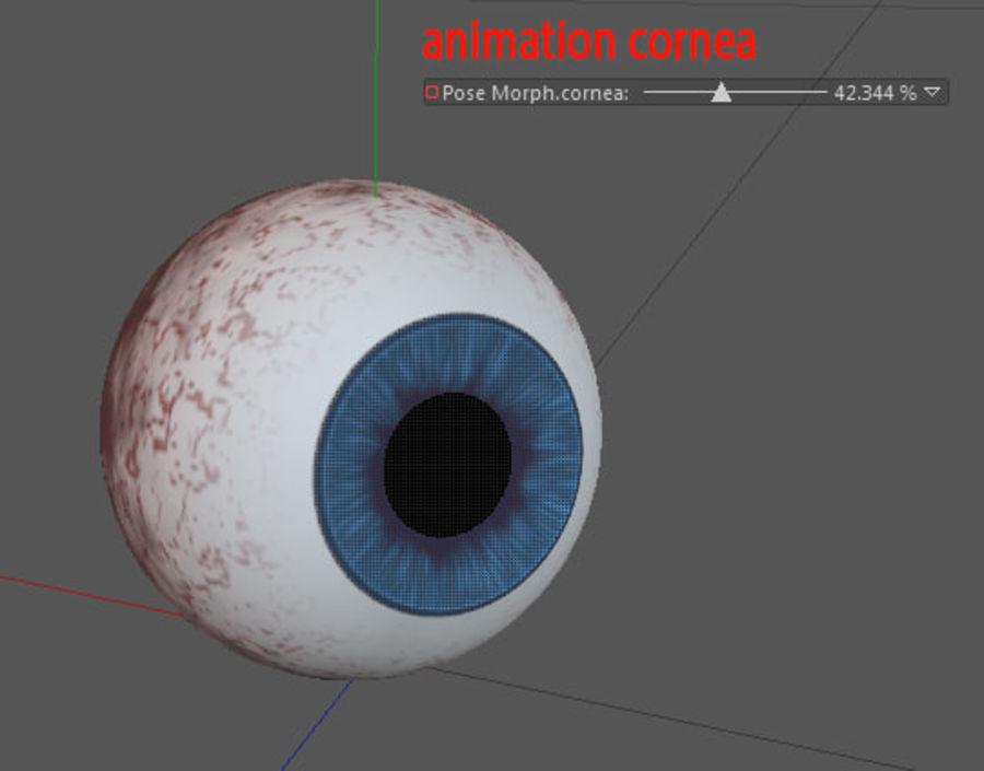 eye boll royalty-free 3d model - Preview no. 7