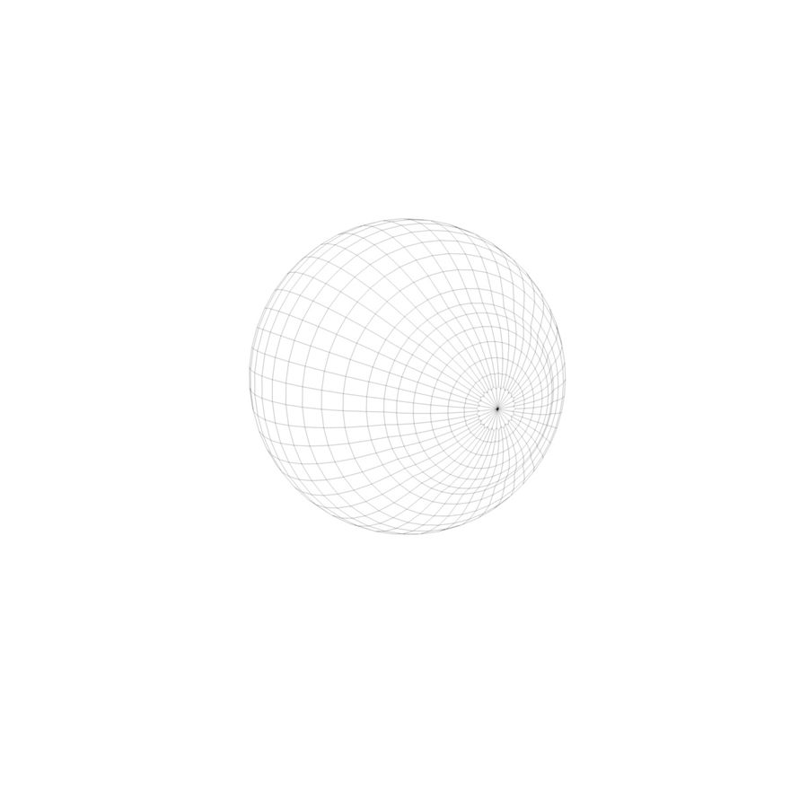 eye boll royalty-free 3d model - Preview no. 6