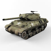 M10 tank destroyer 3d model