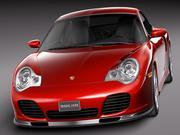 Porsche 911 Turbo 996 2002 3d model