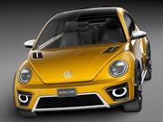 Volkswagen Beetle Dune Concept 2014 3d model