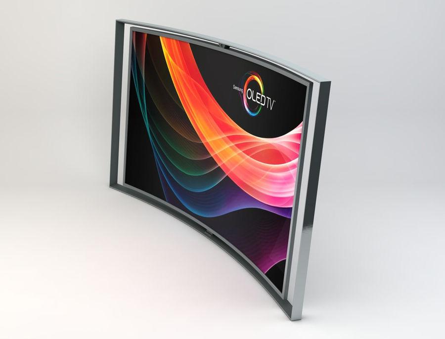 三星智能OLED电视 royalty-free 3d model - Preview no. 4