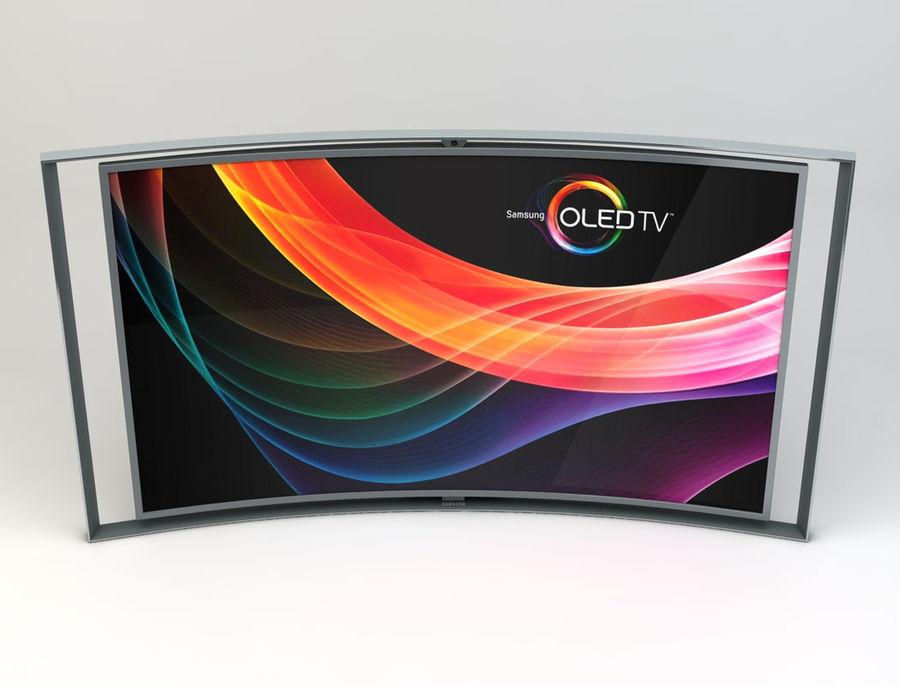 三星智能OLED电视 royalty-free 3d model - Preview no. 5