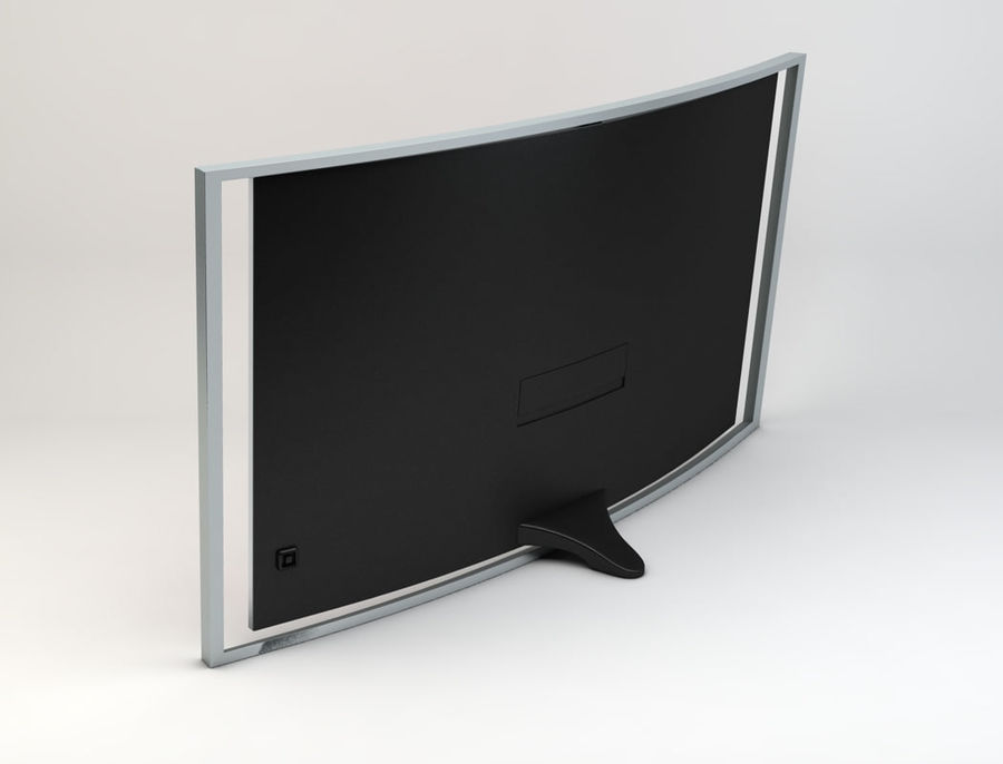 三星智能OLED电视 royalty-free 3d model - Preview no. 6