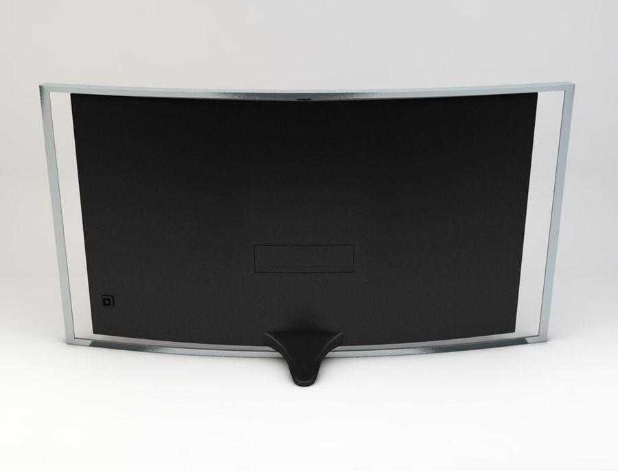 三星智能OLED电视 royalty-free 3d model - Preview no. 7