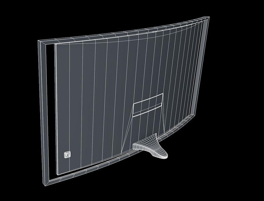 三星智能OLED电视 royalty-free 3d model - Preview no. 10